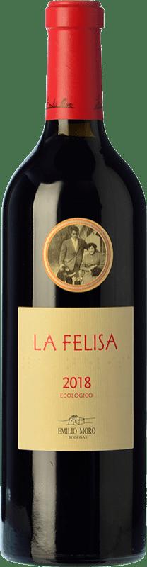 28,95 € Free Shipping | Red wine Emilio Moro La Felisa Crianza D.O. Ribera del Duero Castilla y León Spain Tempranillo Bottle 75 cl