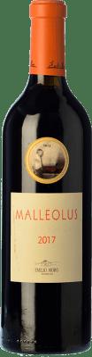 28,95 € Envío gratis | Vino tinto Emilio Moro Malleolus Crianza D.O. Ribera del Duero Castilla y León España Tempranillo Botella 75 cl