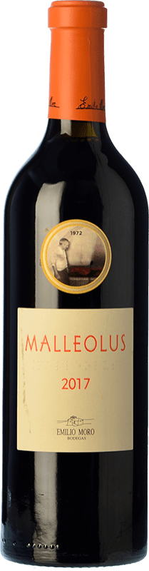 28,95 € Free Shipping | Red wine Emilio Moro Malleolus Crianza D.O. Ribera del Duero Castilla y León Spain Tempranillo Bottle 75 cl