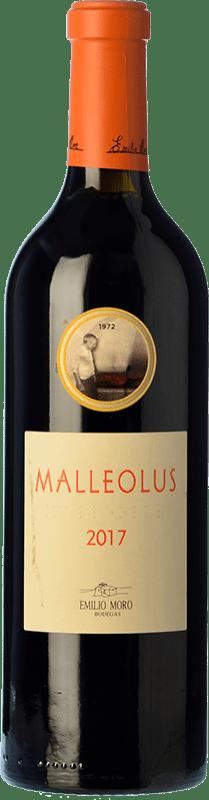 82,95 € Envío gratis | Vino tinto Emilio Moro Malleolus Crianza D.O. Ribera del Duero Castilla y León España Tempranillo Botella Mágnum 1,5 L
