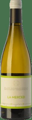 21,95 € Free Shipping | White wine Emilio Valerio La Merced Crianza D.O. Navarra Navarre Spain Malvasía Bottle 75 cl