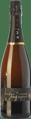 9,95 € Kostenloser Versand | Weißer Sekt Emina Brut Natur D.O. Rueda Kastilien und León Spanien Verdejo Flasche 75 cl