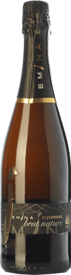 8,95 € Free Shipping | White sparkling Emina Brut Nature D.O. Rueda Castilla y León Spain Verdejo Bottle 75 cl. | Thousands of wine lovers trust us to get the best price guarantee, free shipping always and hassle-free shopping and returns.
