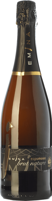9,95 € Envío gratis | Espumoso blanco Emina Brut Nature D.O. Rueda Castilla y León España Verdejo Botella 75 cl