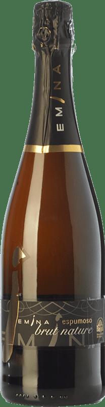 10,95 € Free Shipping | White sparkling Emina Brut Nature D.O. Rueda Castilla y León Spain Verdejo Bottle 75 cl