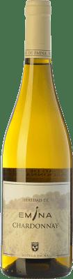 5,95 € Envío gratis | Vino blanco Emina Heredad I.G.P. Vino de la Tierra de Castilla y León Castilla y León España Chardonnay Botella 75 cl
