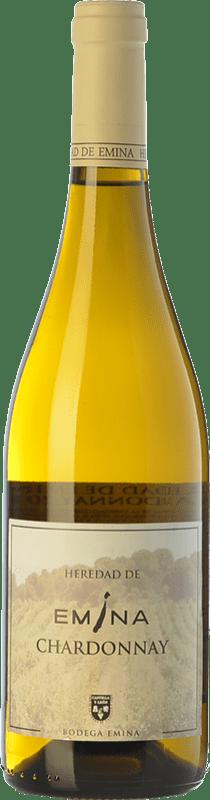 5,95 € Free Shipping | White wine Emina Heredad I.G.P. Vino de la Tierra de Castilla y León Castilla y León Spain Chardonnay Bottle 75 cl