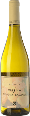 8,95 € Envío gratis | Vino blanco Emina Heredad I.G.P. Vino de la Tierra de Castilla y León Castilla y León España Gewürztraminer Botella 75 cl