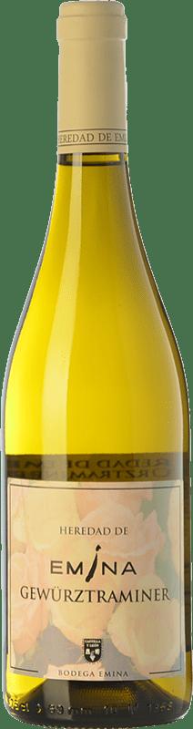 8,95 € Free Shipping | White wine Emina Heredad I.G.P. Vino de la Tierra de Castilla y León Castilla y León Spain Gewürztraminer Bottle 75 cl