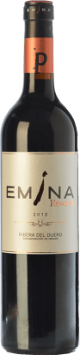 27,95 € Kostenloser Versand | Rotwein Emina Reserva D.O. Ribera del Duero Kastilien und León Spanien Tempranillo Flasche 75 cl