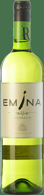 4,95 € Free Shipping | White wine Emina Joven D.O. Rueda Castilla y León Spain Viura, Verdejo Bottle 75 cl