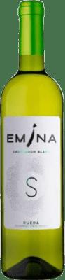 6,95 € Kostenloser Versand | Weißwein Emina D.O. Rueda Kastilien und León Spanien Sauvignon Weiß Flasche 75 cl
