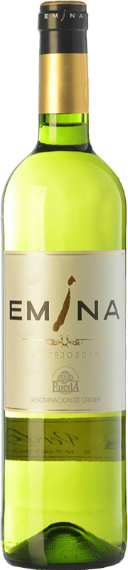 6,95 € Free Shipping | White wine Emina D.O. Rueda Castilla y León Spain Verdejo Bottle 75 cl