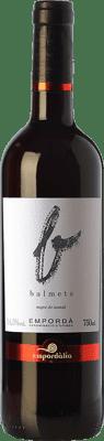 12,95 € Free Shipping | Red wine Empordàlia Balmeta Joven D.O. Empordà Catalonia Spain Grenache Bottle 75 cl