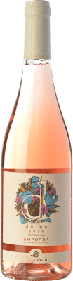 9,95 € Free Shipping | Rosé wine Empordàlia Daina D.O. Empordà Catalonia Spain Grenache Grey Bottle 75 cl
