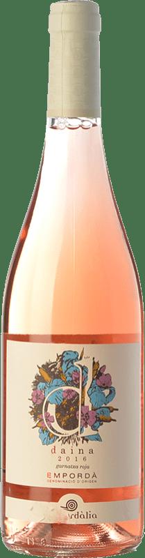 8,95 € Envío gratis   Vino rosado Empordàlia Daina D.O. Empordà Cataluña España Garnacha Gris Botella 75 cl