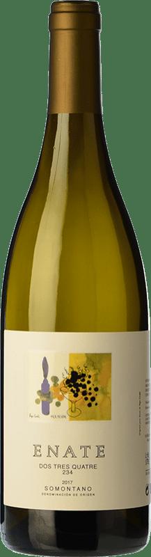 19,95 € Envoi gratuit | Vin blanc Enate 234 D.O. Somontano Aragon Espagne Chardonnay Bouteille Magnum 1,5 L