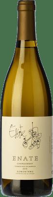 16,95 € Envío gratis | Vino blanco Enate Fermentado en Barrica Crianza D.O. Somontano Aragón España Chardonnay Botella 75 cl