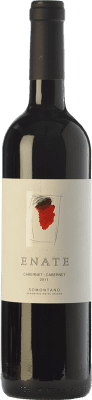 28,95 € Free Shipping | Red wine Enate Cabernet Crianza 2011 D.O. Somontano Aragon Spain Cabernet Sauvignon Bottle 75 cl