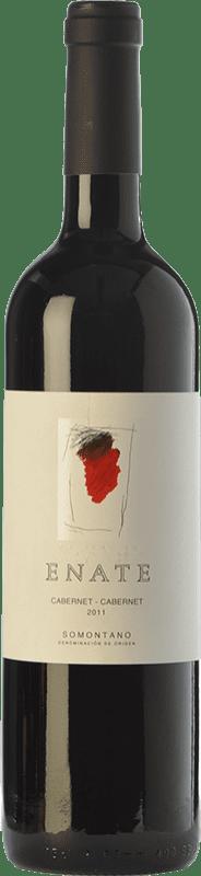 24,95 € Free Shipping | Red wine Enate Cabernet Crianza 2011 D.O. Somontano Aragon Spain Cabernet Sauvignon Bottle 75 cl