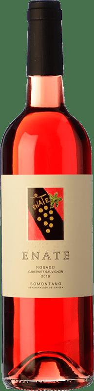9,95 € Free Shipping | Rosé wine Enate D.O. Somontano Aragon Spain Cabernet Sauvignon Bottle 75 cl