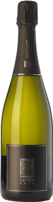 25,95 € Free Shipping | White sparkling Enrico Gatti Satèn 2011 D.O.C.G. Franciacorta Lombardia Italy Chardonnay Bottle 75 cl. | Thousands of wine lovers trust us to get the best price guarantee, free shipping always and hassle-free shopping and returns.