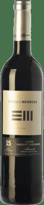 14,95 € Free Shipping | Red wine Enrique Mendoza Syrah-Cabernet Reserva D.O. Alicante Valencian Community Spain Syrah, Cabernet Sauvignon Bottle 75 cl