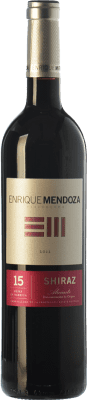 14,95 € Free Shipping | Red wine Enrique Mendoza Joven D.O. Alicante Valencian Community Spain Syrah Bottle 75 cl