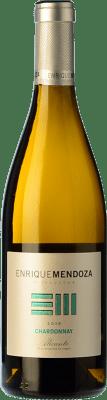 9,95 € Free Shipping | White wine Enrique Mendoza Joven D.O. Alicante Valencian Community Spain Chardonnay Bottle 75 cl