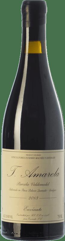 14,95 € Envío gratis | Vino tinto Envínate Amarela Parcela Valdemedel Crianza D.O. Ribera del Guadiana Extremadura España Tinta Amarela Botella 75 cl