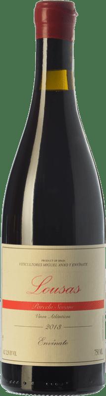 19,95 € Envío gratis | Vino tinto Envínate Lousas Parcela Seoane Crianza D.O. Ribeira Sacra Galicia España Mencía, Garnacha Tintorera, Merenzao Botella 75 cl