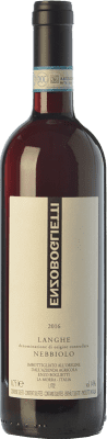 19,95 € Free Shipping | Red wine Enzo Boglietti D.O.C. Langhe Piemonte Italy Nebbiolo Bottle 75 cl