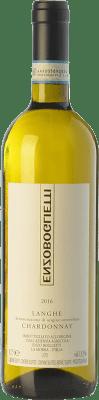 14,95 € Free Shipping | White wine Enzo Boglietti D.O.C. Langhe Piemonte Italy Chardonnay Bottle 75 cl