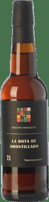 107,95 € Free Shipping | Fortified wine Equipo Navazos La Bota De Amontillado Aniversario 73 D.O. Montilla-Moriles Andalusia Spain Palomino Fino Half Bottle 37 cl