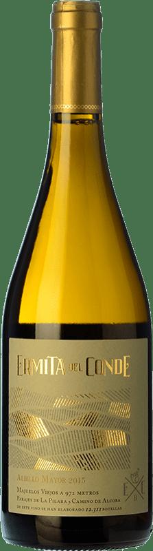 16,95 € Free Shipping | White wine Ermita del Conde Centenario Crianza I.G.P. Vino de la Tierra de Castilla y León Castilla y León Spain Albillo Bottle 75 cl