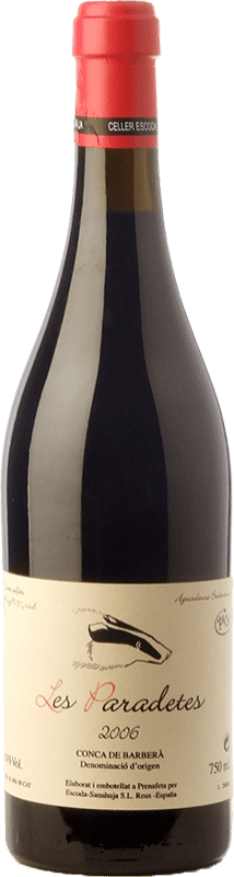 19,95 € Free Shipping | Red wine Escoda Sanahuja Les Paradetes Joven D.O. Conca de Barberà Catalonia Spain Grenache, Samsó, Sumoll Bottle 75 cl