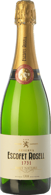 8,95 € Free Shipping | White sparkling Escofet Rosell 1731 Brut Nature Reserva D.O. Cava Catalonia Spain Pinot Black, Macabeo, Xarel·lo, Chardonnay, Parellada Bottle 75 cl. | Thousands of wine lovers trust us to get the best price guarantee, free shipping always and hassle-free shopping and returns.