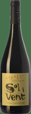 10,95 € Free Shipping | Red wine Espelt Sol i Vent Joven D.O. Empordà Catalonia Spain Syrah, Grenache, Monastrell Bottle 75 cl