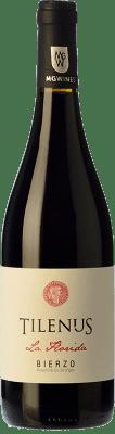 10,95 € Free Shipping | Red wine Estefanía Tilenus Crianza D.O. Bierzo Castilla y León Spain Mencía Bottle 75 cl