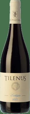 8,95 € Free Shipping | Red wine Estefanía Tilenus Ecológico Joven D.O. Bierzo Castilla y León Spain Mencía Bottle 75 cl