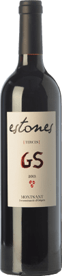 21,95 € Free Shipping | Red wine Estones GS Crianza D.O. Montsant Catalonia Spain Grenache, Mazuelo Bottle 75 cl