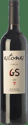 19,95 € Envío gratis | Vino tinto Estones GS Crianza D.O. Montsant Cataluña España Garnacha, Mazuelo Botella 75 cl