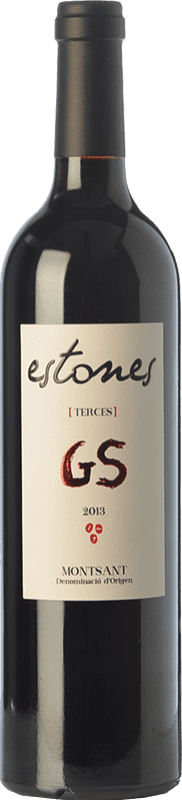 19,95 € Free Shipping | Red wine Estones GS Crianza D.O. Montsant Catalonia Spain Grenache, Mazuelo Bottle 75 cl