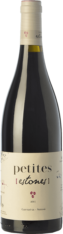 8,95 € Envío gratis | Vino tinto Estones Petites Joven D.O. Montsant Cataluña España Garnacha, Cariñena Botella 75 cl