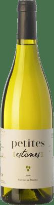 9,95 € Envío gratis | Vino blanco Estones Petites Blanc D.O. Terra Alta Cataluña España Garnacha Blanca Botella 75 cl