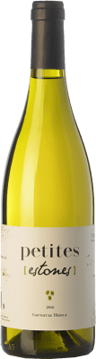 9,95 € Free Shipping | White wine Estones Petites Blanc D.O. Terra Alta Catalonia Spain Grenache White Bottle 75 cl