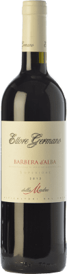 25,95 € Free Shipping | Red wine Ettore Germano della Madre D.O.C. Barbera d'Alba Piemonte Italy Barbera Bottle 75 cl