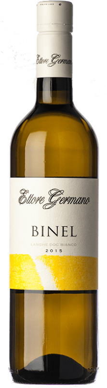 17,95 € Free Shipping | White wine Ettore Germano Binel D.O.C. Langhe Piemonte Italy Chardonnay, Riesling Bottle 75 cl