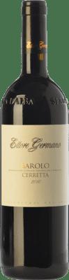 56,95 € Free Shipping | Red wine Ettore Germano Cerretta D.O.C.G. Barolo Piemonte Italy Nebbiolo Bottle 75 cl