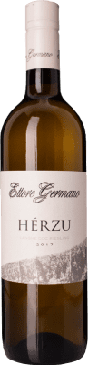 29,95 € Free Shipping | White wine Ettore Germano Herzu D.O.C. Langhe Piemonte Italy Riesling Bottle 75 cl